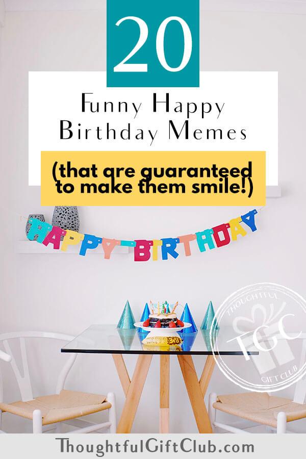 20 Funny Happy Birthday Memes to Send ASAP