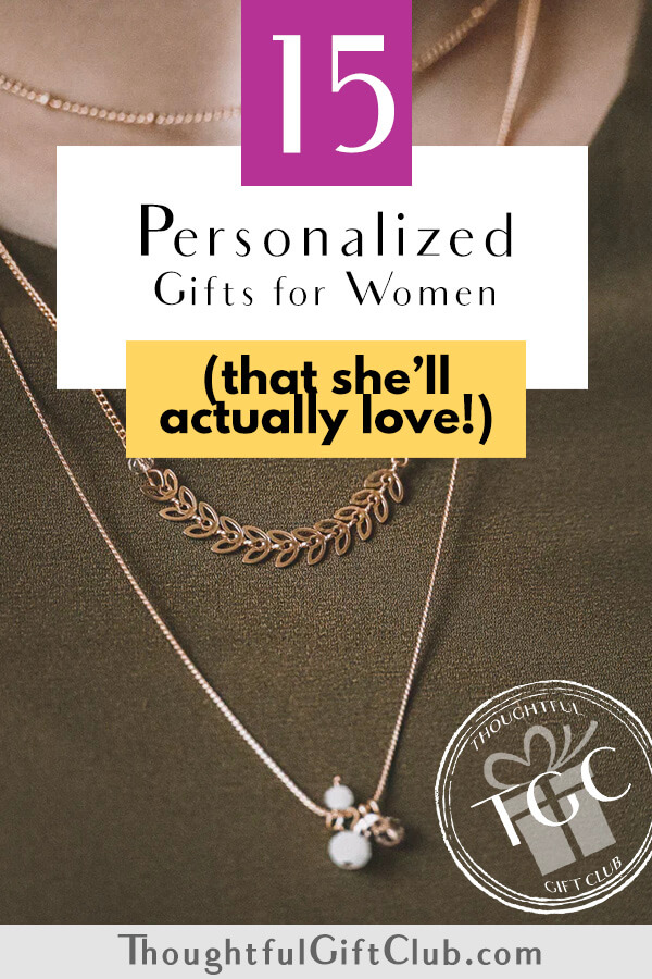 Personalized Gifts for Her: The Best Personalized Gifts for Women (for Every Budget!)