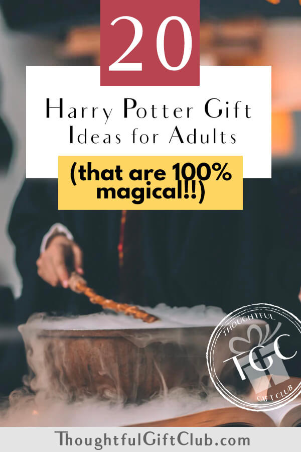20 Magical Harry Potter Gifts for Adults: The BEST Gifts for Harry Potter Fans!