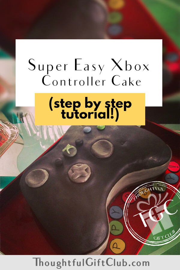 Xbox Cake Tutorial Step By Step How To Make An Epic Xbox Controller Cake