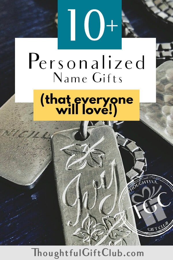 The Best Personalized Name Gifts: Custom Name Gifts (for Every Budget!)