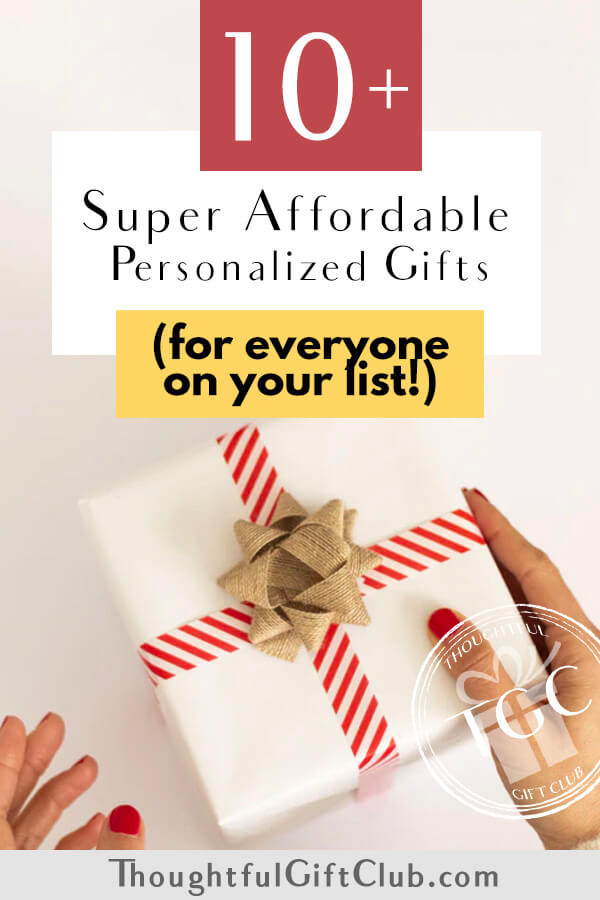 The Best Inexpensive Personalized Gifts Under $30!