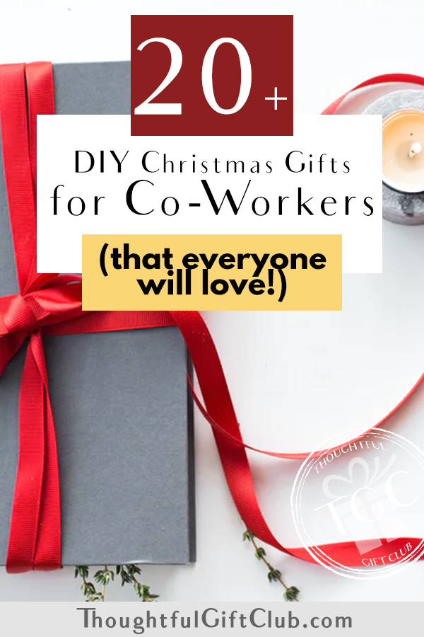 Thoughtful DIY Christmas Gifts for Coworkers (That Anyone Will Love!)