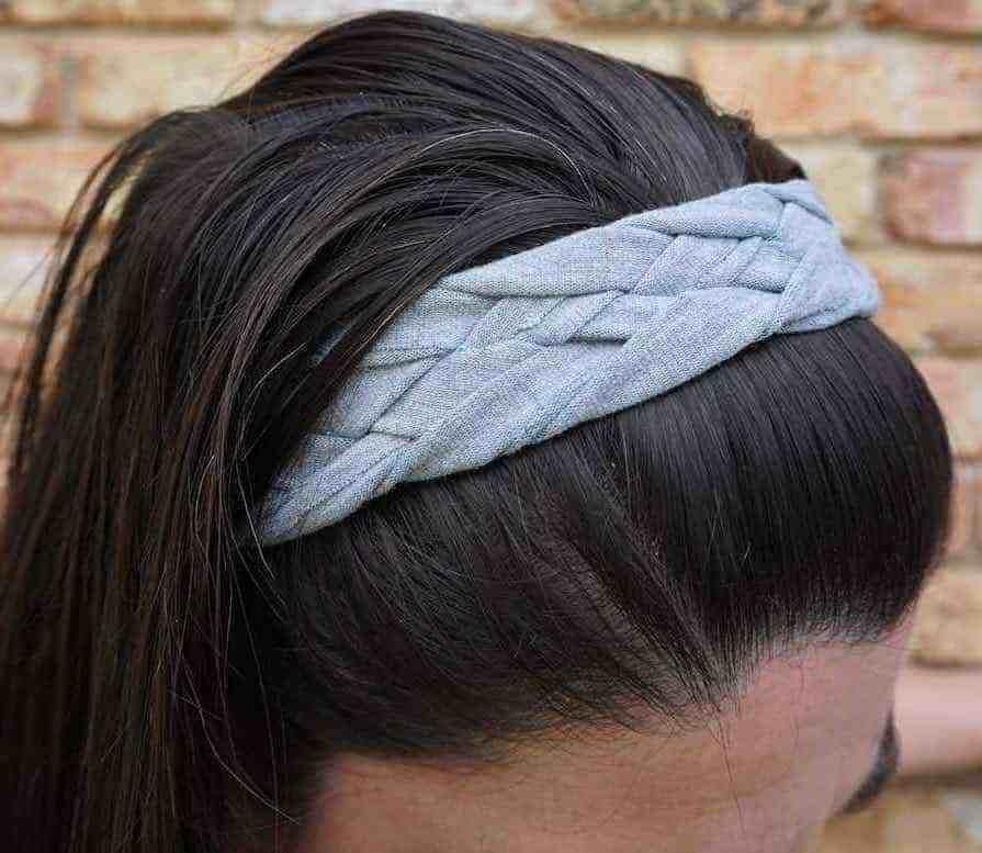 No sew headband