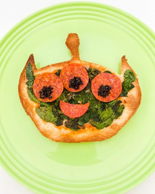 Toy Story alien pizza