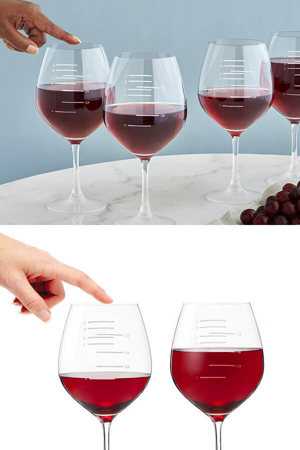 These Major Scale Musical Wine Glasses Will Help You Live Your Miss Congeniality Dream