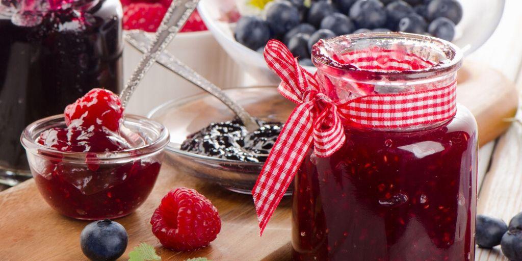 Raspberry-blueberry jam