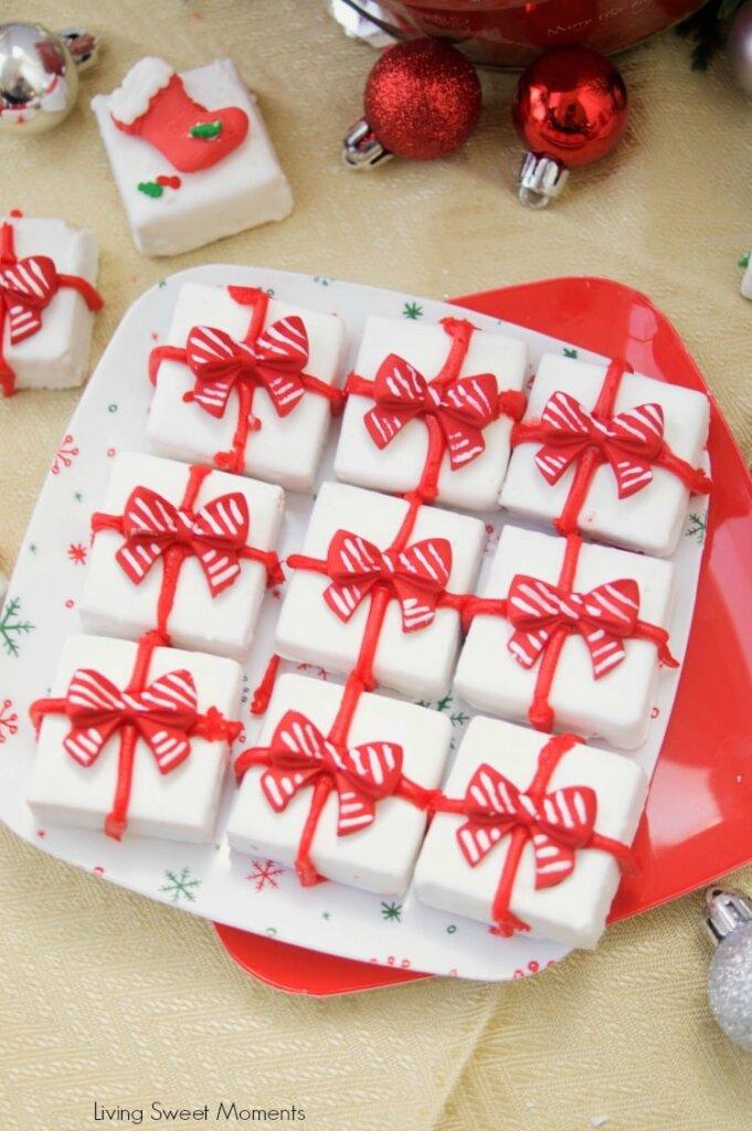 Gingerbread holiday fudge