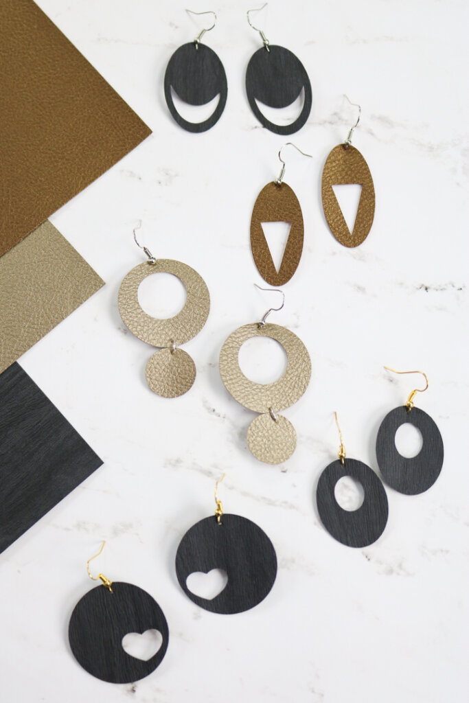 cricut earrings