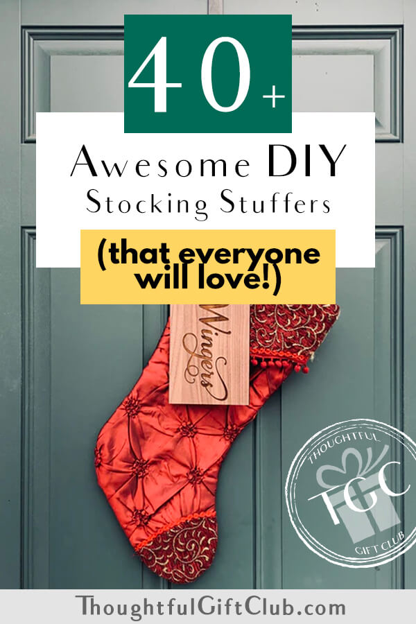 40+ Thoughtful DIY Stocking Stuffers (That Everyone is Sure to Love!)