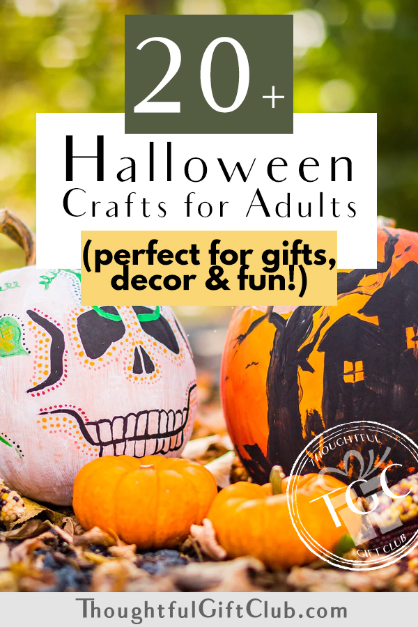20+ Halloween Crafts for Adults: Perfect for Gifts, Decor & Fun!
