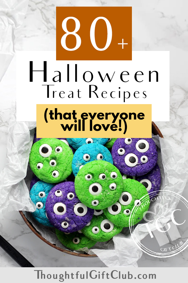 80+ Halloween Treats to Make at Home: Perfect for Parties & Gifting