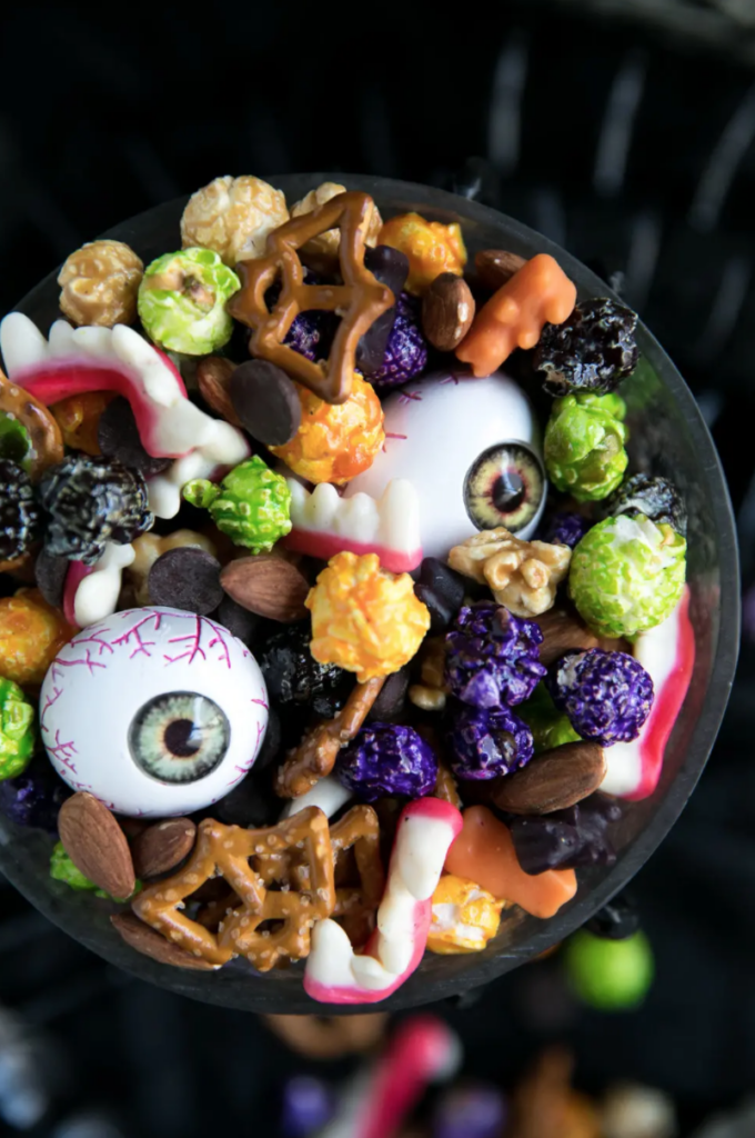 Monster mash party mix