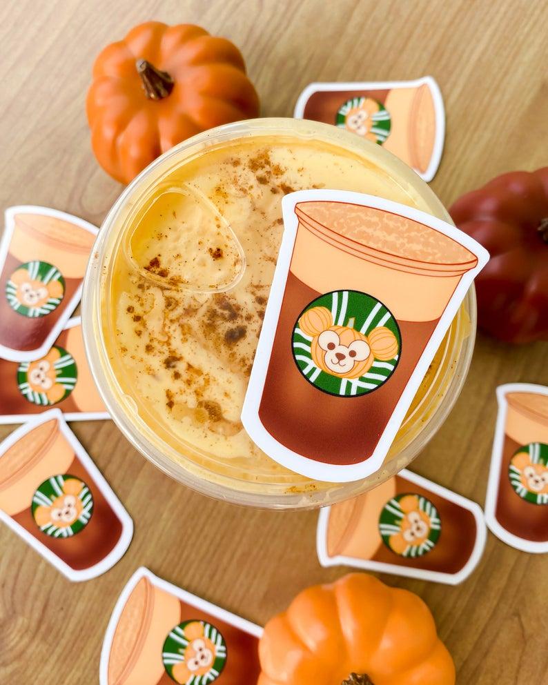 Pumpkin duffy sticker