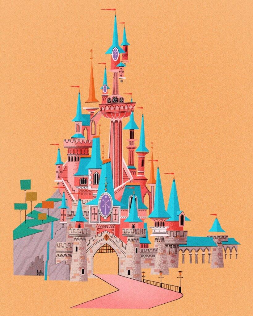 Disneyland Paris print