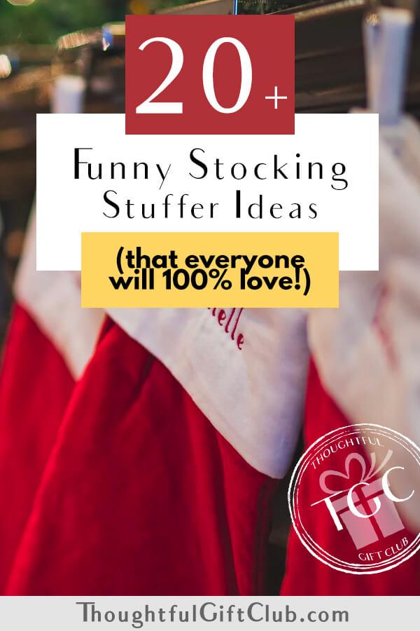20+ Funny Stocking Stuffers Everyone Will Love!