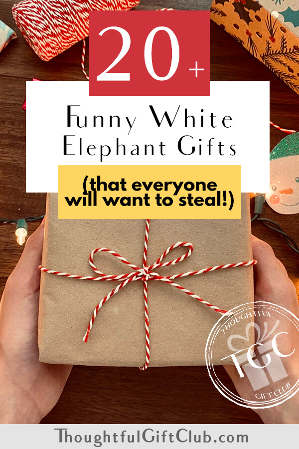 20+ Funny White Elephant Gifts to Steal This Christmas