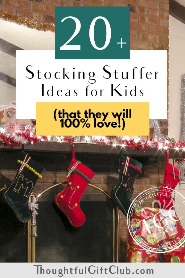 20+ Kids' Stocking Stuffers That Every Kid Will Love!