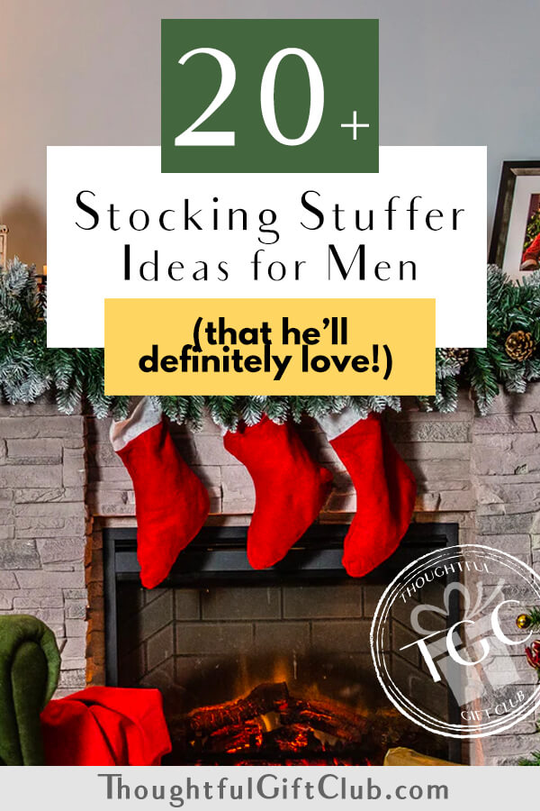 20+ Stocking Stuffers for Men That They're Sure to Love