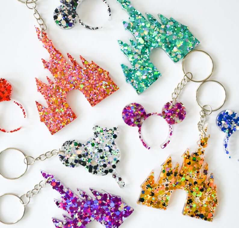 Castle ears and keychains
