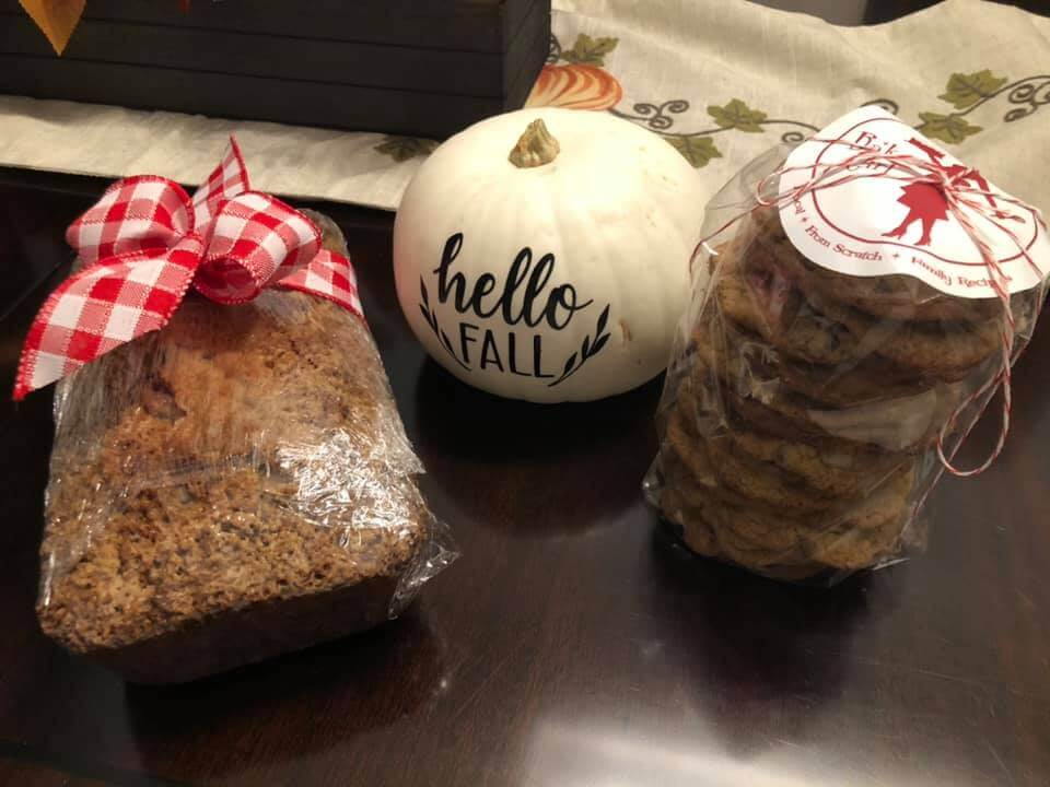 Cookies and zucchini bread
