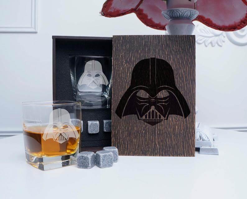 Darth Vader whiskey set