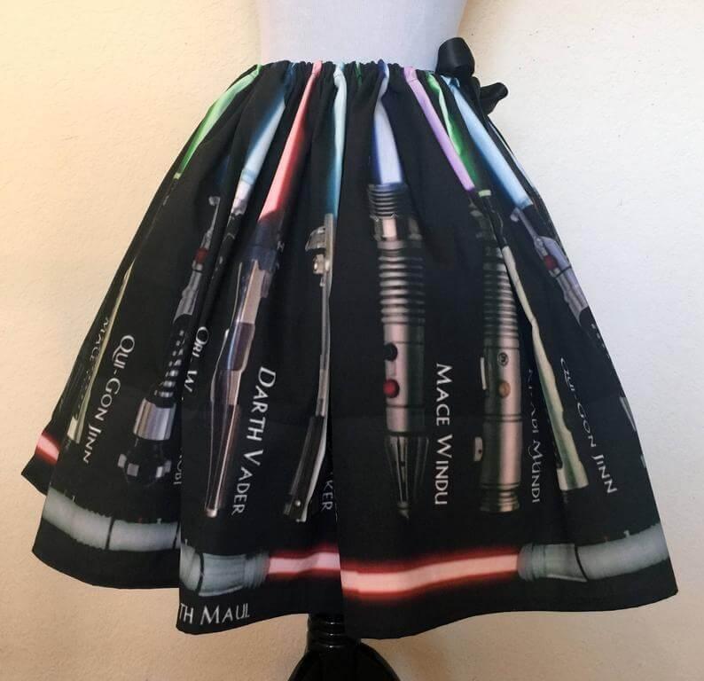 Lightsaber skirt