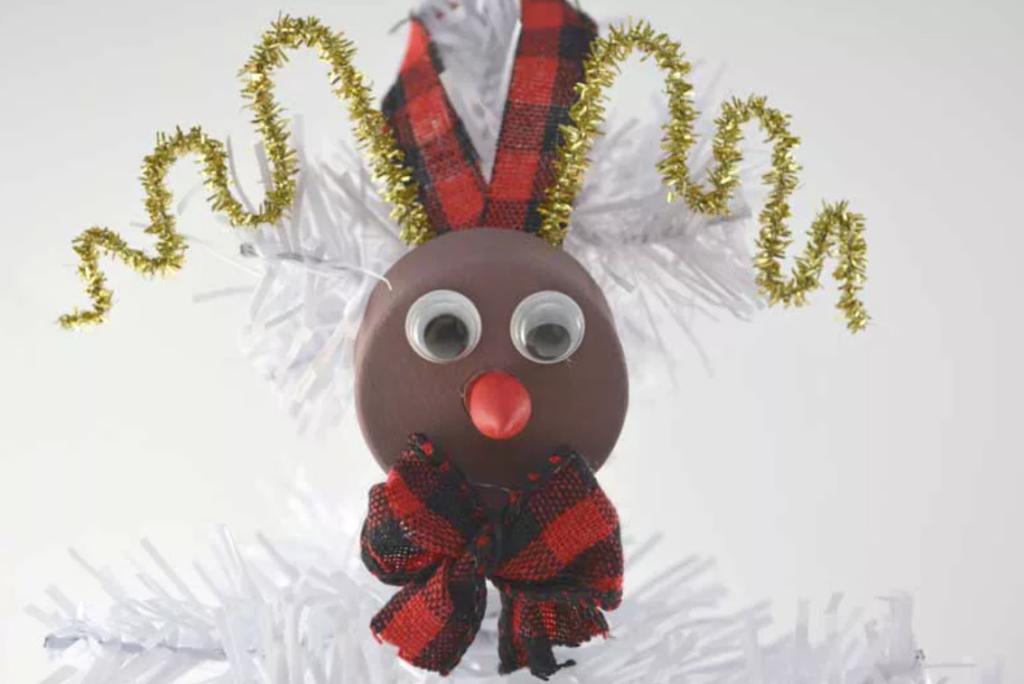 Rudolph tealight ornament
