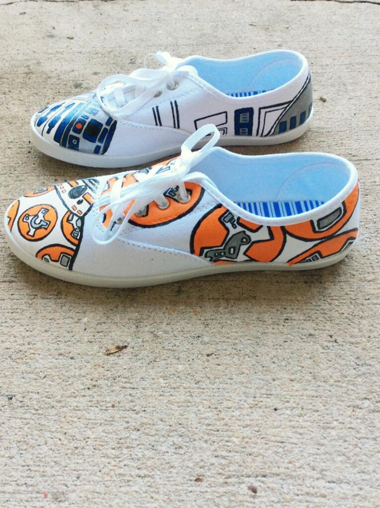 Star Wars canvas shoes