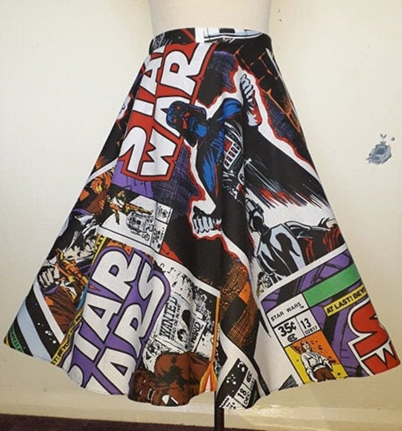 Star Wars skirt with pockets