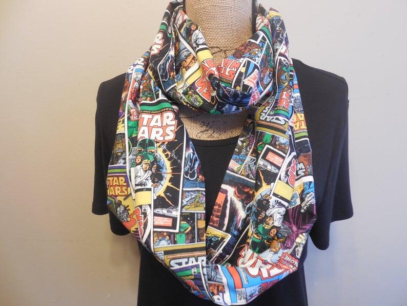 Star Wars infinity scarf