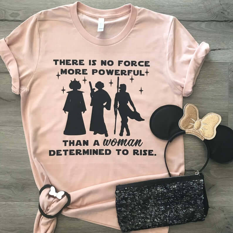 Women strong with the force shirt