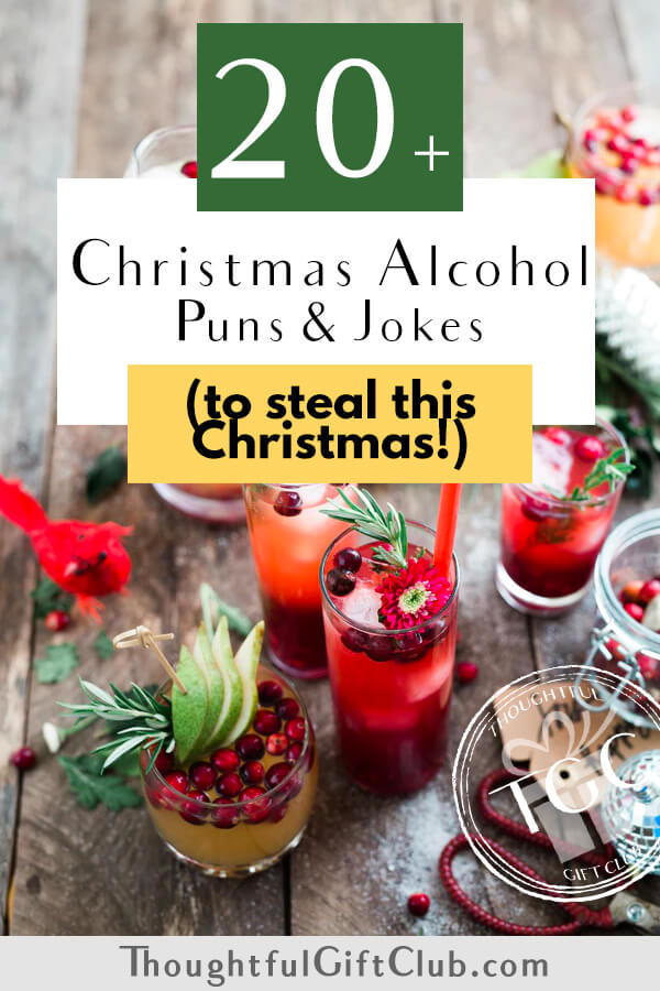 50+ Christmas Alcohol Puns & Cocktail Names for Optimal Christmas Cheers