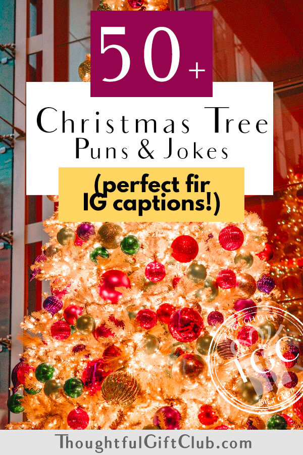 50+ Christmas Tree Puns Fir Instagram that are Too Clever to Be-Leaf