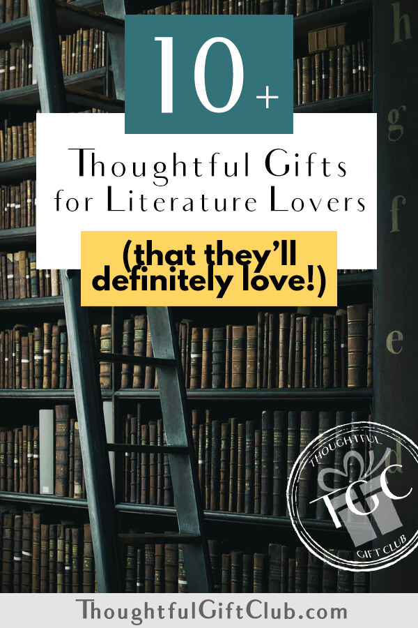 Thoughtful Gifts for Literature Lovers: Literary Gifts (for Every Budget!)