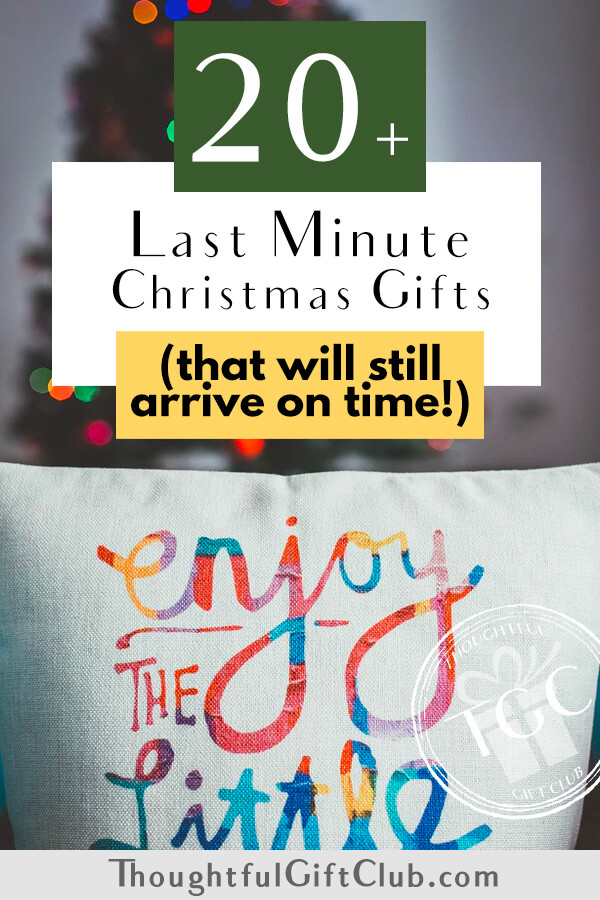 20+ Last Minute Christmas Gifts (That Will Still Arrive Before Christmas!)