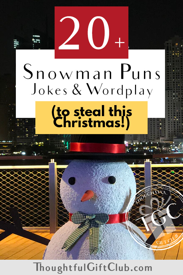 20+ Snowman Puns, Jokes & Wordplay that are Snow Clever, Everyone Will Laugh