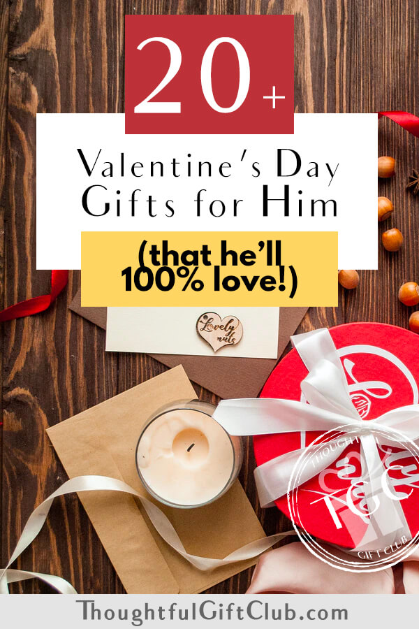 20+ Thoughtful Valentine's Gifts for Him: Ideas for Every Budget!