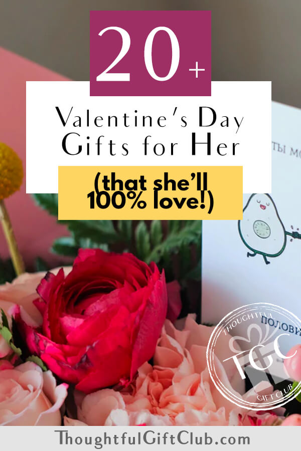 20+ Thoughtful Valentine's Gifts for Her: Ideas for Every Budget!