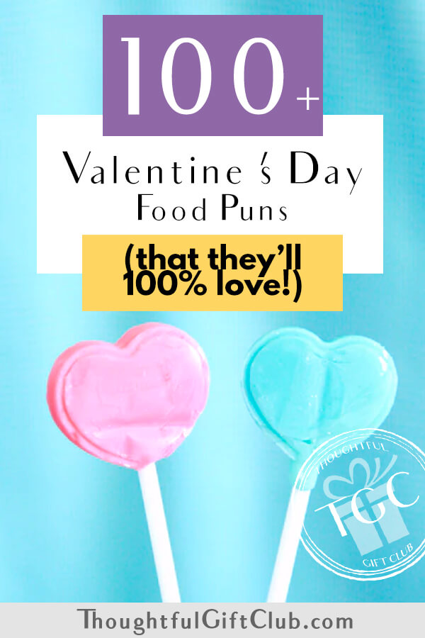100+ Valentine's Day Food Puns You Need to Steal