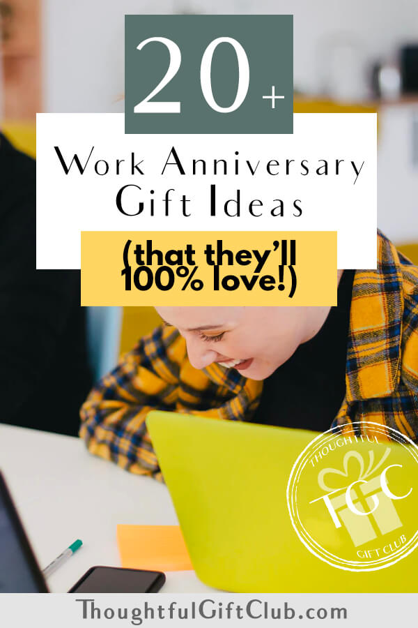 20+ Work Anniversary Gifts that Everyone Will Love!
