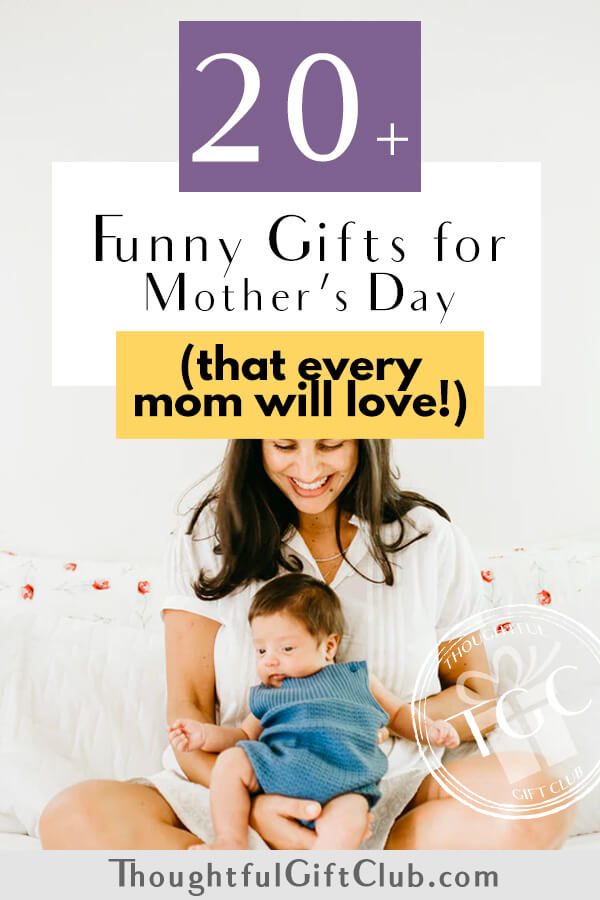 20+ Funny Mother's Day Gifts that Will Make Every Mom Laugh