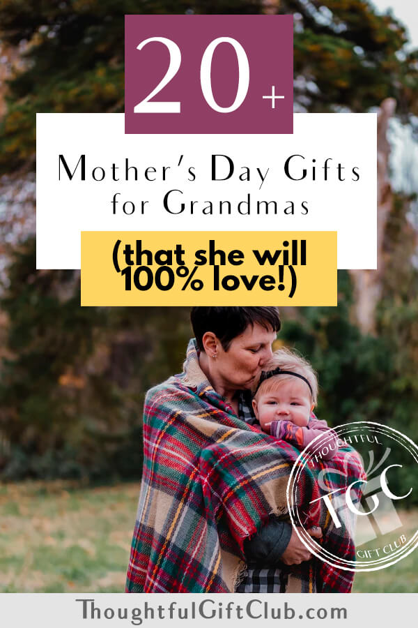 20+ Thoughtful Mother's Day Gifts for Grandma that She'll Love