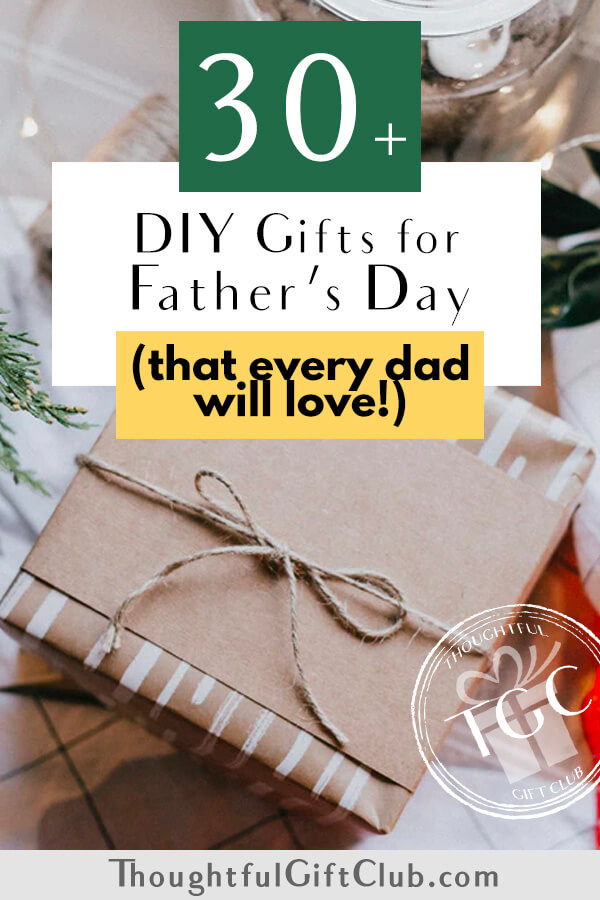 30 Delightfully Thoughtful DIY Gifts for Father's Day