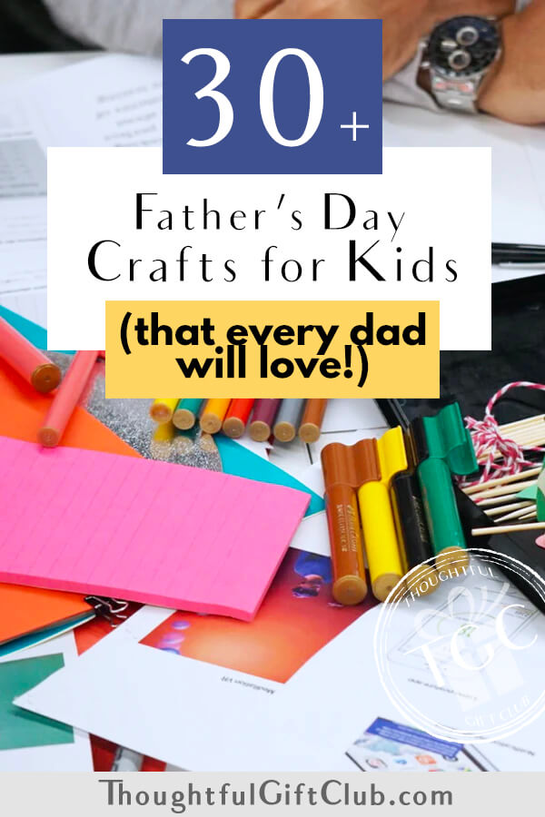30 Awesome Father's Day Craft Ideas for Kids