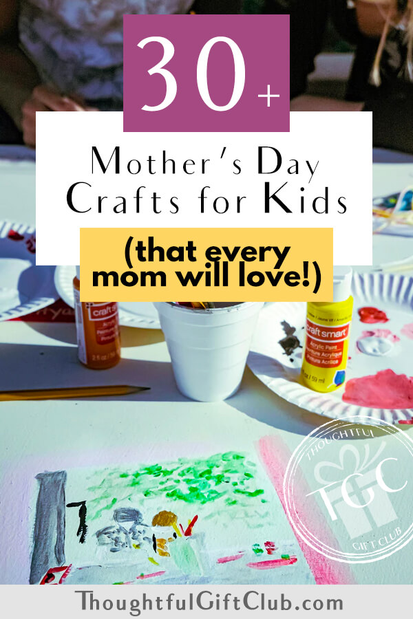 30 Awesome Mother's Day Craft Ideas for Kids