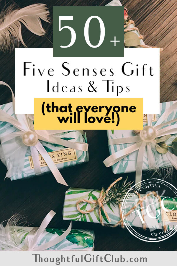 Five Senses Gifts for Him & Her: 50+ Ideas They'll Love