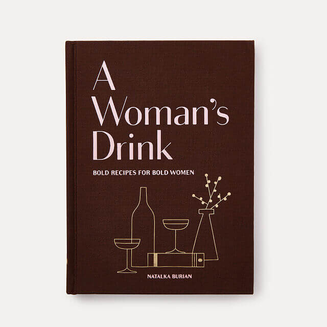 """This Awesome Cocktail Recipe Book """"for Bold Women"""""""