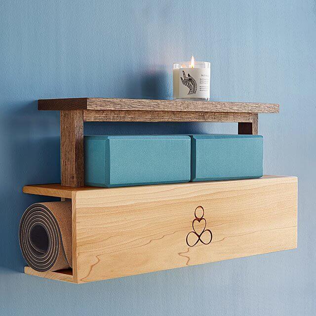 This Beautiful Yoga Mat & Storage Unit